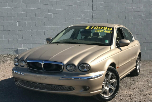 2003 MY04 Jaguar X-Type X400 MY04 SE Sedan