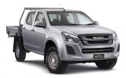 New Isuzu UTE 4x2 SX Crew Cab Chassis High-Ride