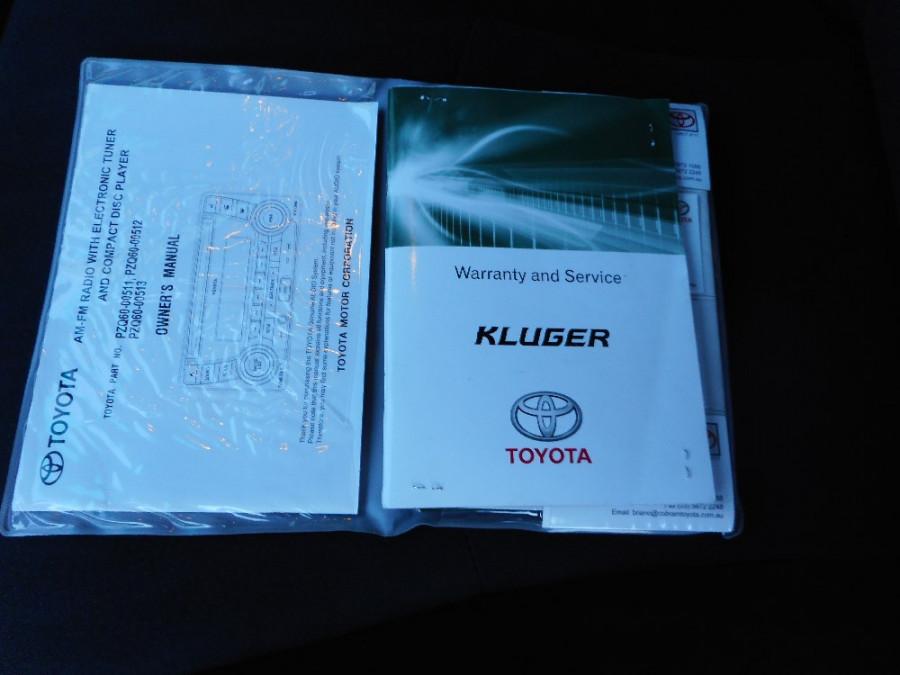 2012 Toyota Kluger GSU40R  KX-R Wagon