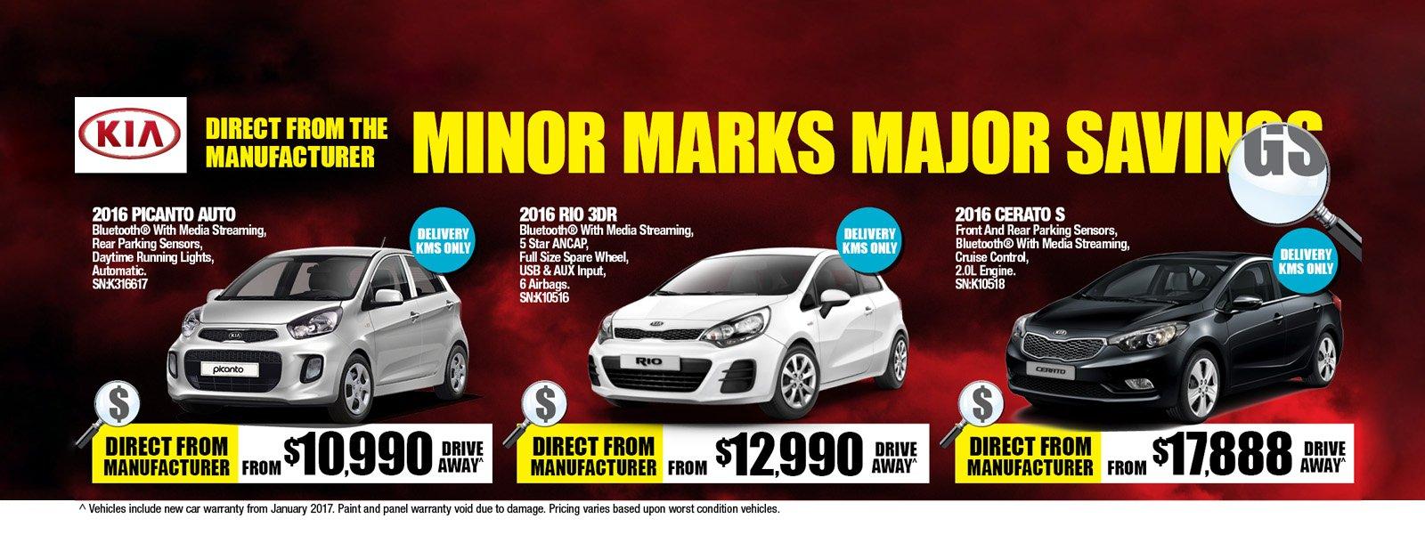 Minor Marks, Major Savings