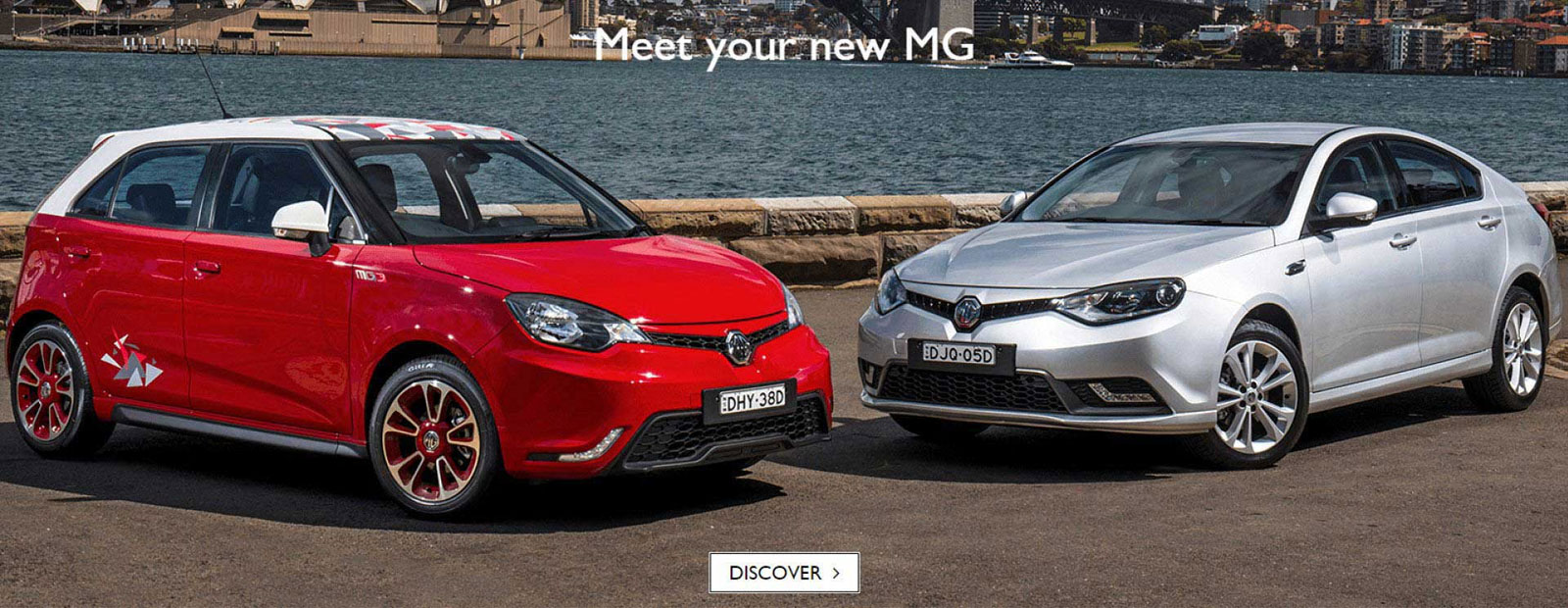 Meet your all-new MG MG3 and MG6 Plus
