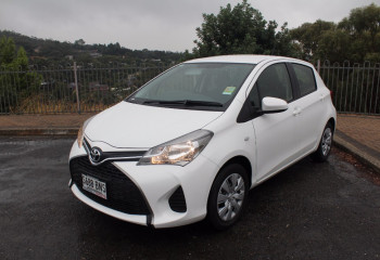 2016 MY15 Toyota Yaris NCP130R Ascent Hatchback