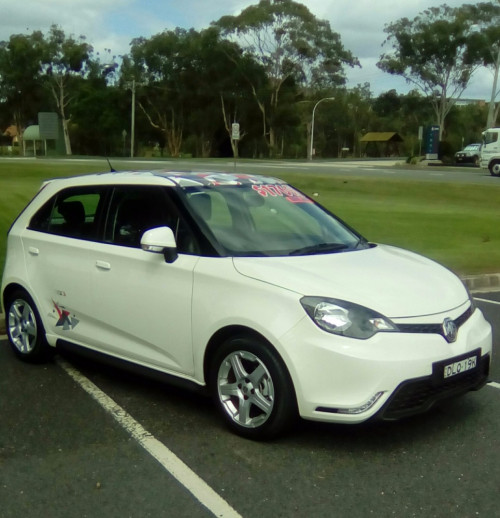 2016 MY17 MG MG3 SZP1 Soul Hatchback