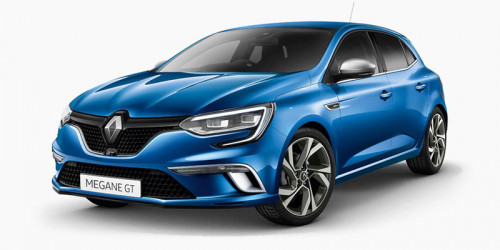 2016 MY17 Renault Megane Hatch BFB GT Hatchback