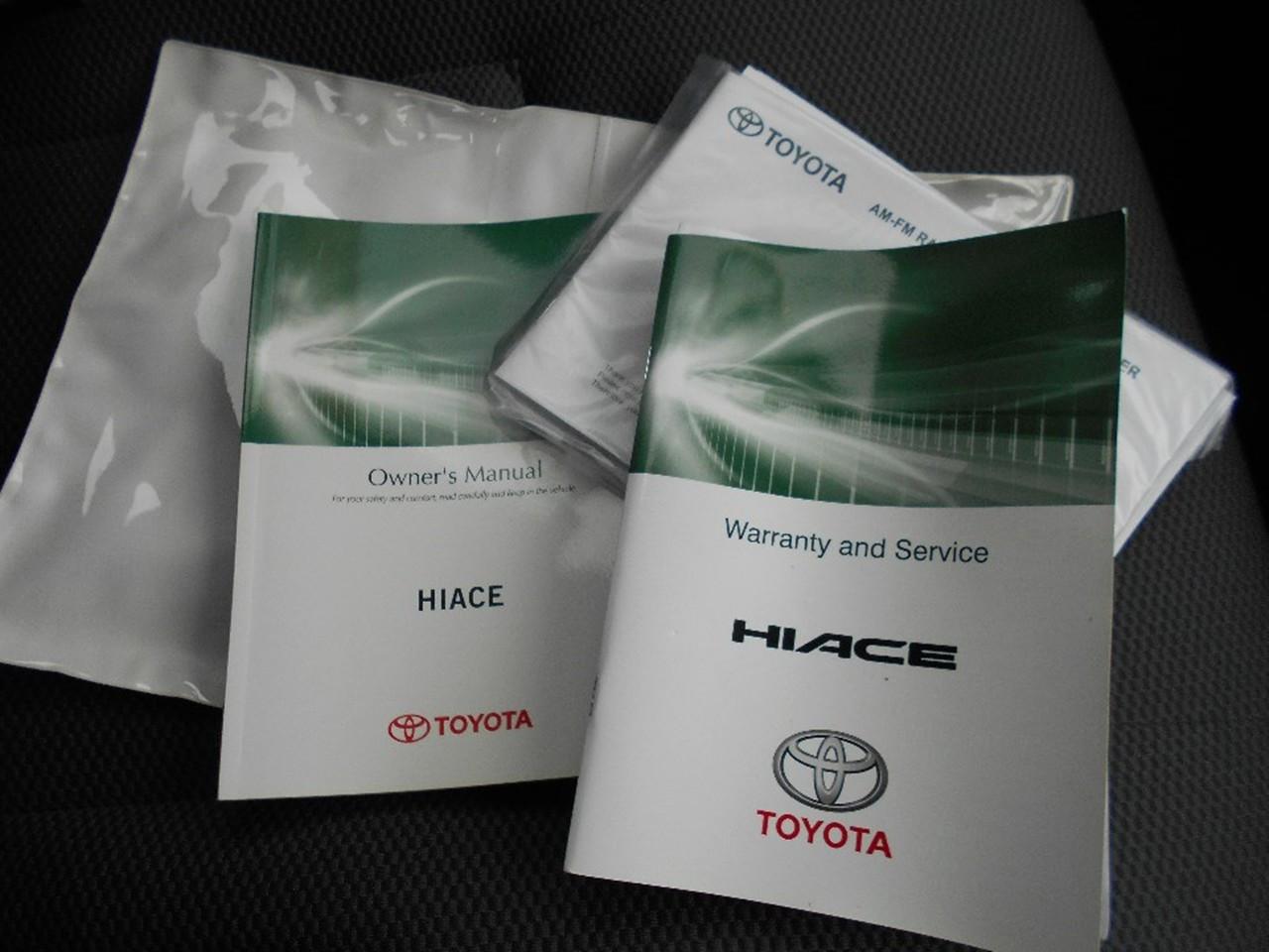 2014 Toyota Hiace KDH201R MY14 Van
