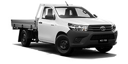 WorkMate 4x2 Single-Cab Cab-Chassis