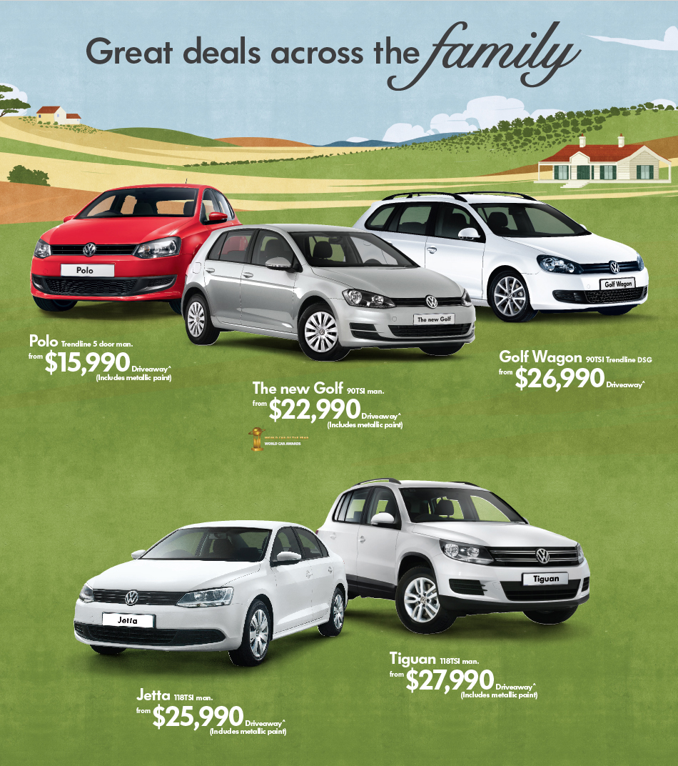 Great deals across the Family