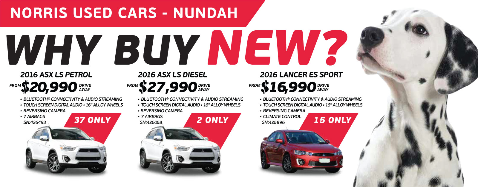 Great savings across a large selection of Mitsubishi stock