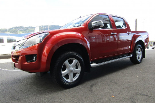 Isuzu Ute D-MAX LS-U (No Series) MY15