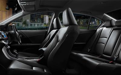 Accord Sport Hybrid Interior Seating