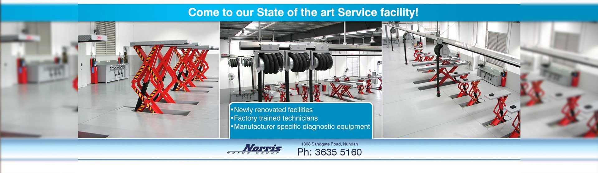 Come to our state of the art service facility at Nundah Mitsubishi Brisbane.