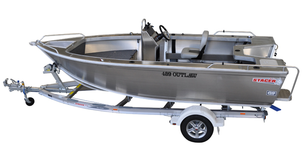 New Stacer 489 Outlaw Centre Console