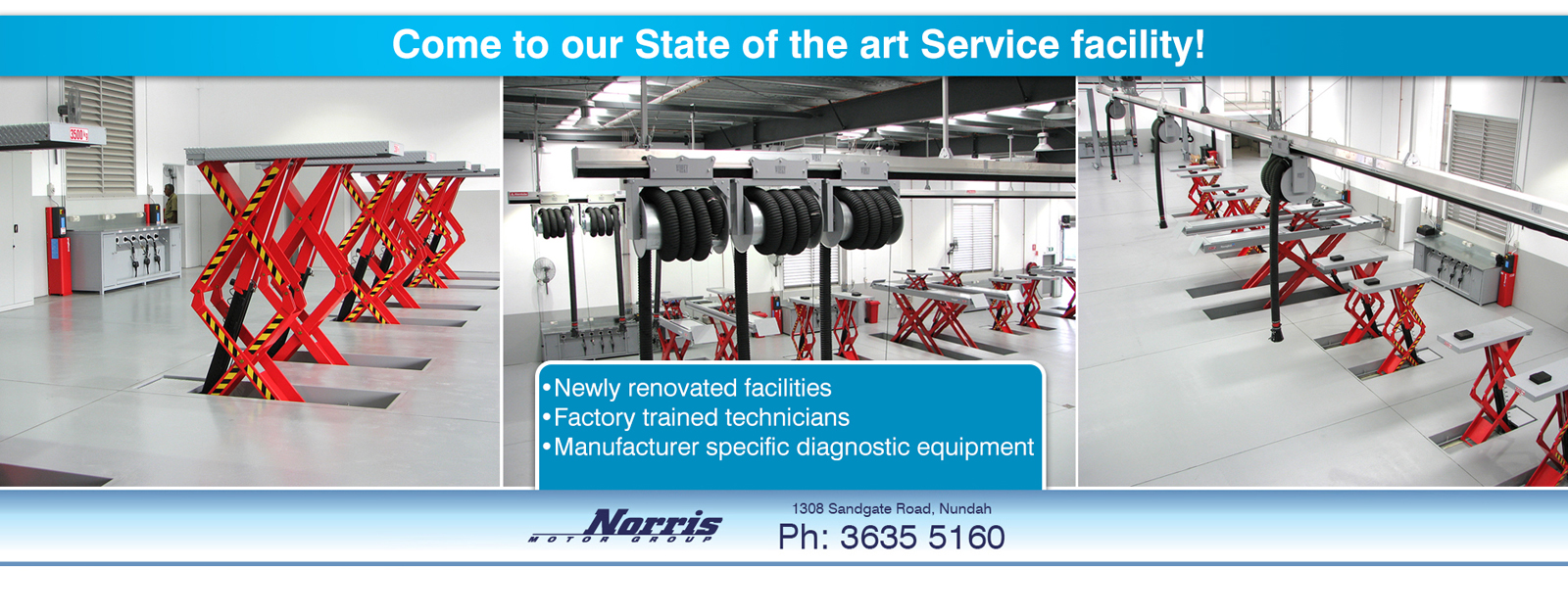 Come to our state of the art service facility at Nundah Isuzu UTE Brisbane.