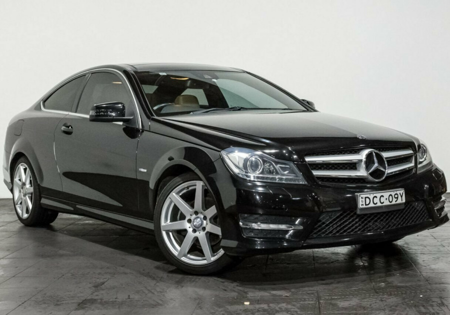 2012 MY13 Mercedes-Benz C250 C204 MY13 BlueEFFICIENCY 7G-Tronic + Coupe