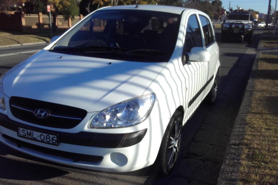2009 Hyundai Getz TB MY09 Hatchback