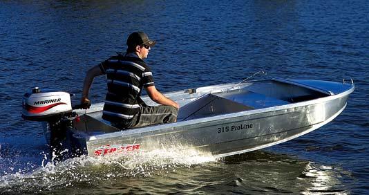 New Stacer 319 Proline