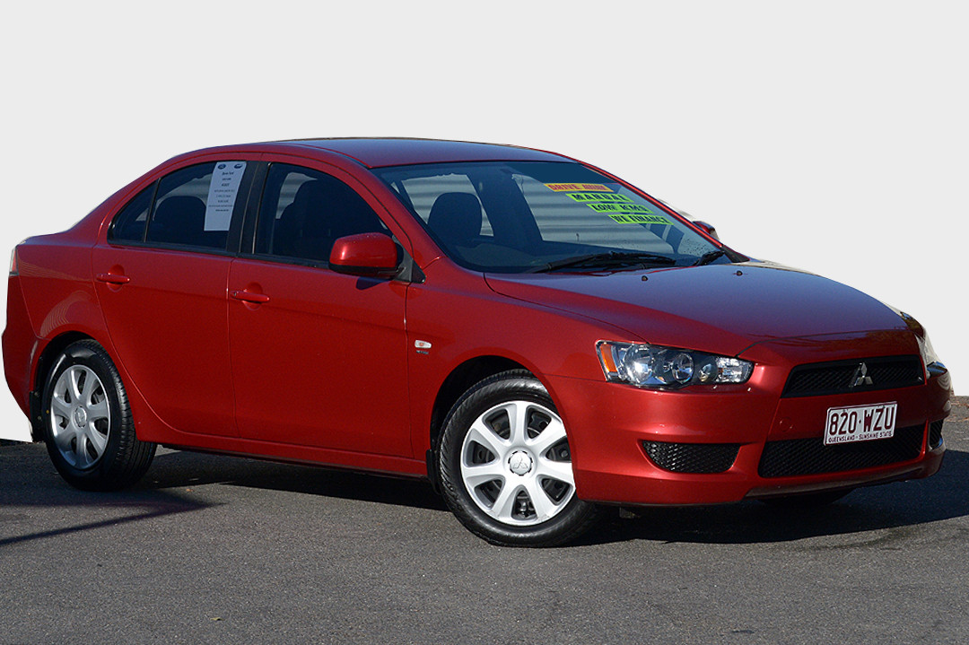 2011 Mitsubishi Lancer CJ MY11 ES Sedan