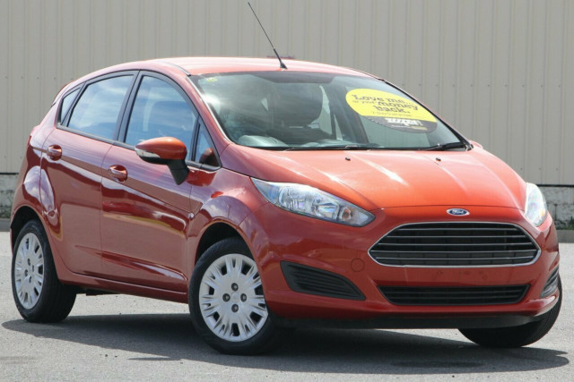 2014 MY15 Ford Fiesta WZ MY15 Ambiente PwrShift Hatchback