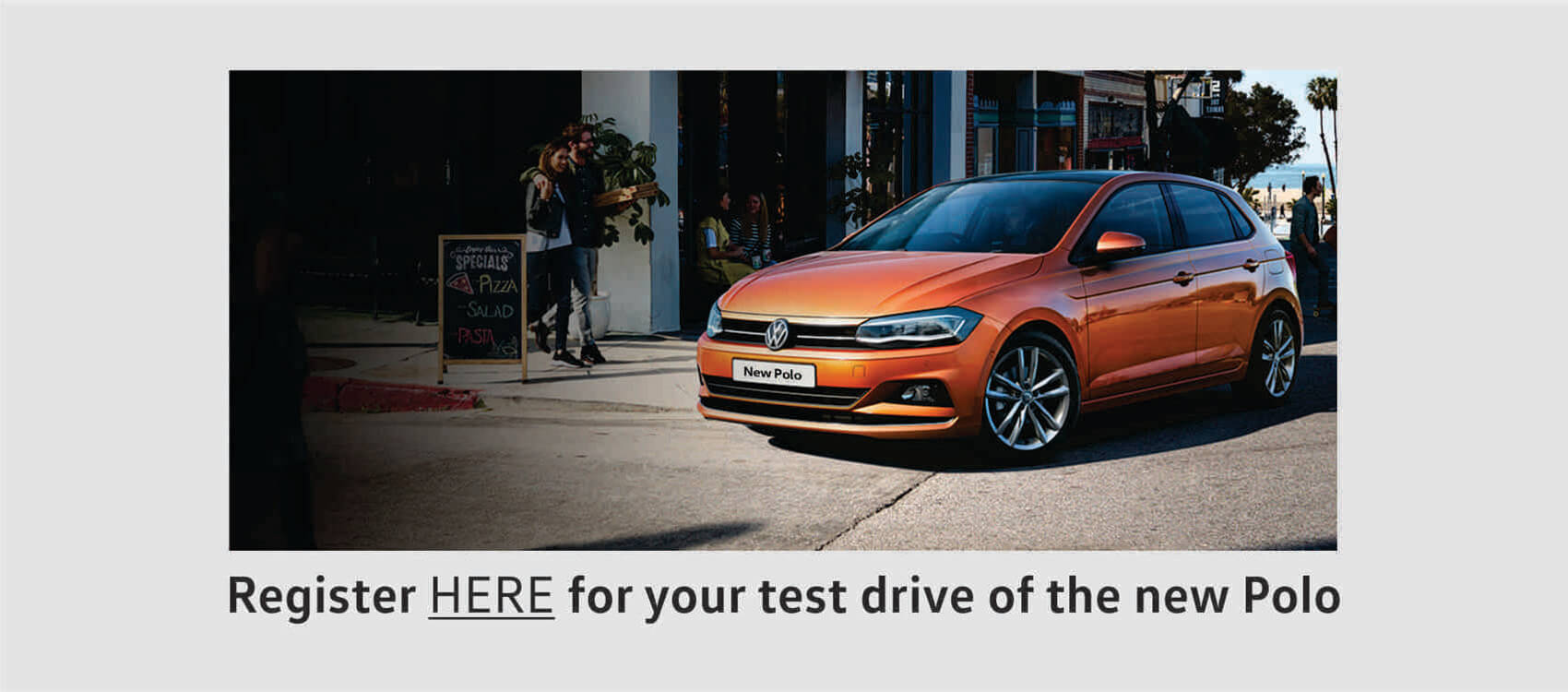 Test drive the new Volkswagen Polo