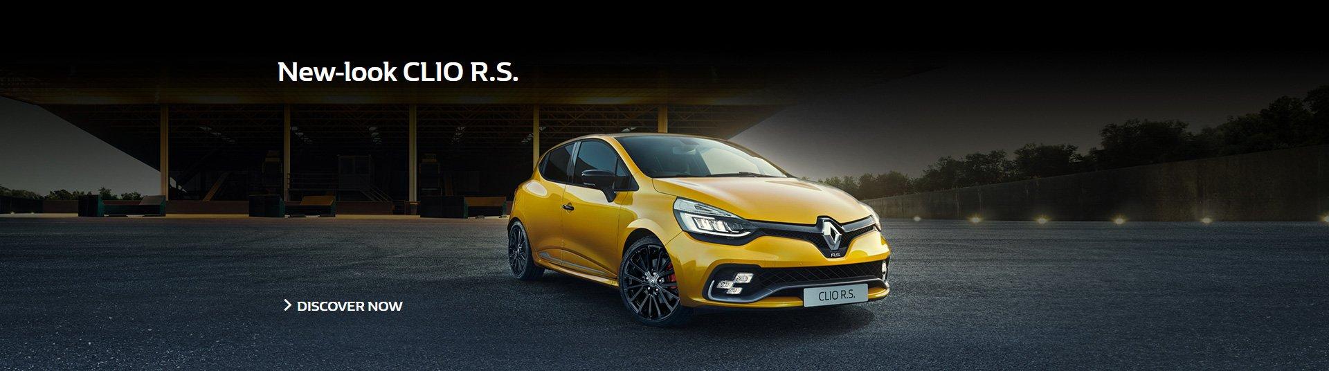 New-look CLIO R.S.