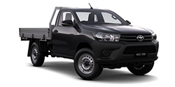 WorkMate 4x4 Single-Cab Cab-Chassis