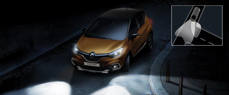 Captur Active Cornering Lights