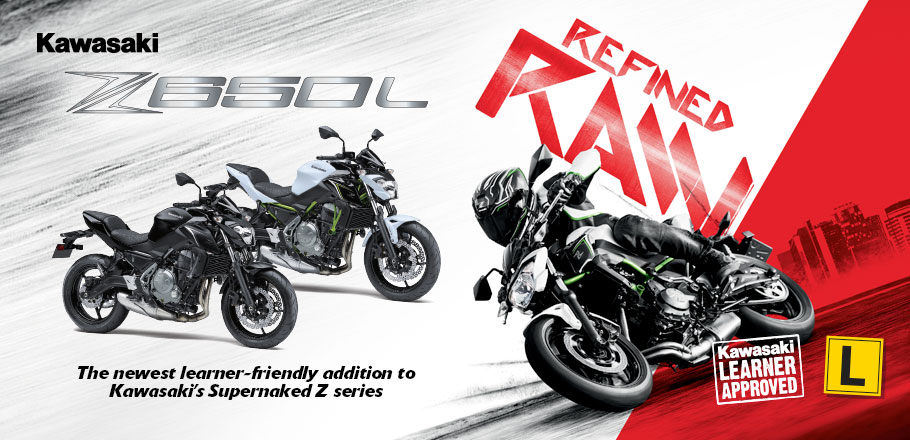 The Z650L is the newest learner-friendly addition to Kawasaki's Supernaked Z series