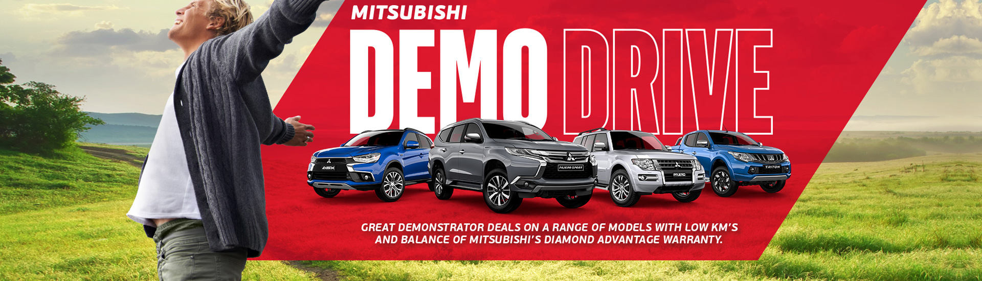 Mitsubishi - July Offer Banner