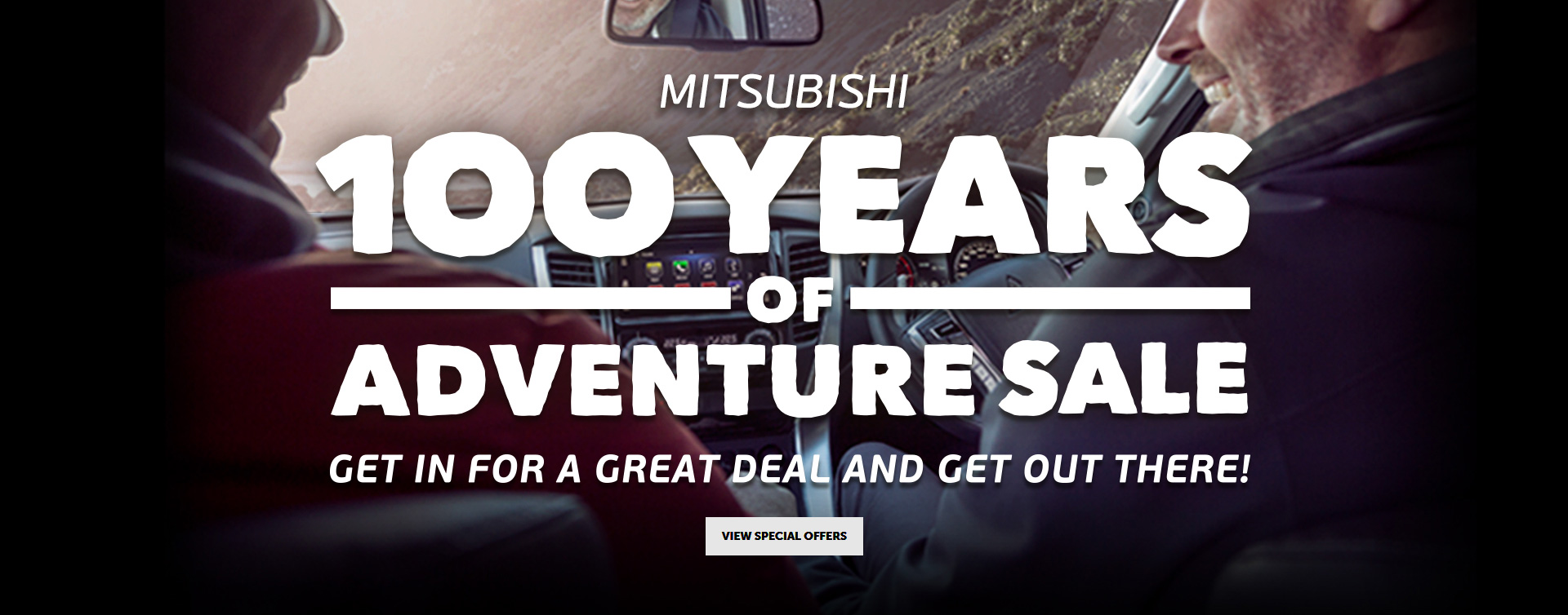 September Offer - Adventure Sale Banner