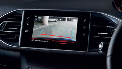 308 Touring Reversing Camera and City Park Assist