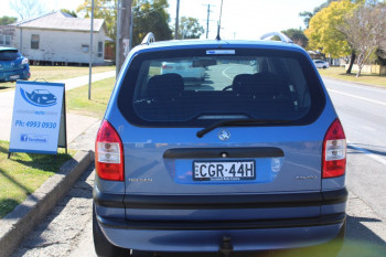 2004 Holden Zafira TT MY03 Wagon