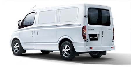 V80 Van Safety and security features