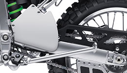 2017 KLX250S Performance Frame and Rear Suspension