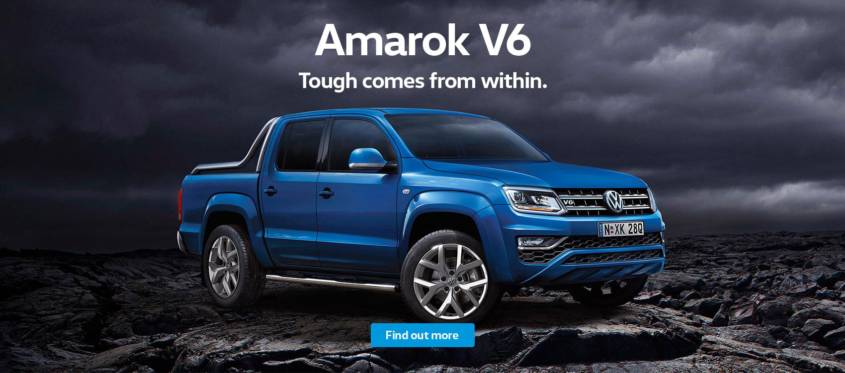 Volkswagen Amarok V6 - Touch comes from within. See NMG VW, your local Brisbane dealer.