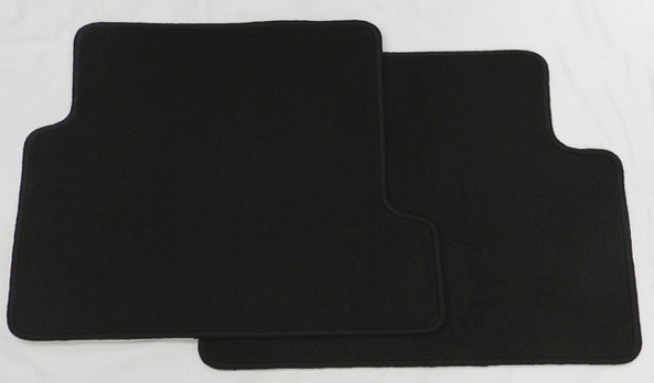 Carpet mats rear – set of 2