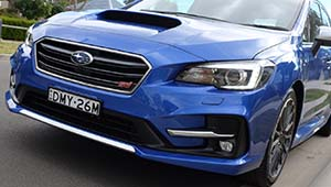 Levorg Flowing, sophisticated, chiselled