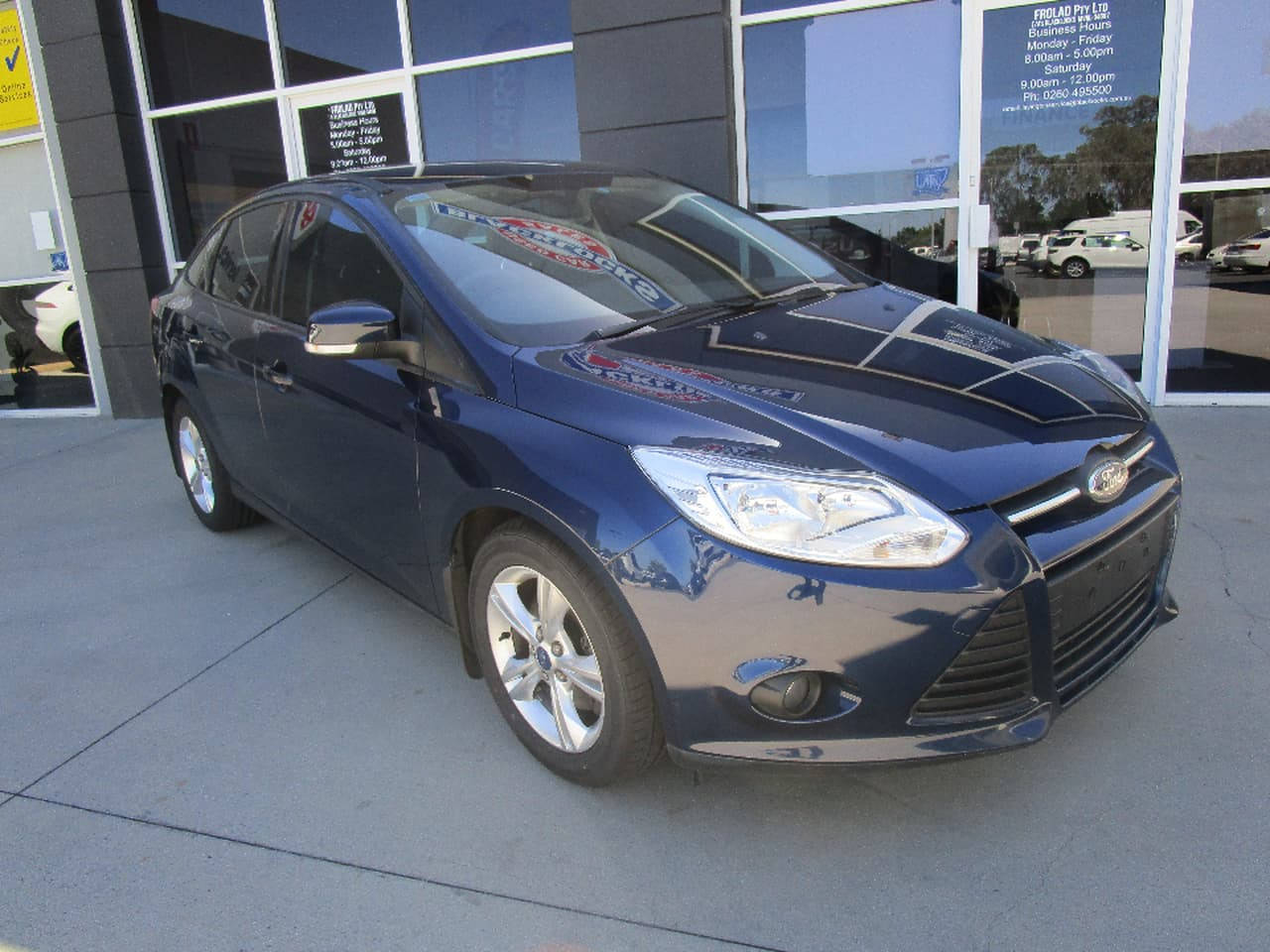 2011 Ford Focus LW TREND Sedan