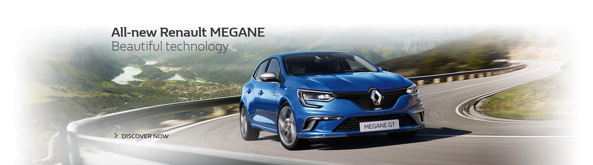 All-new Renault Megane hatch, beautiful technology on sale at Metro Renault Brisbane.