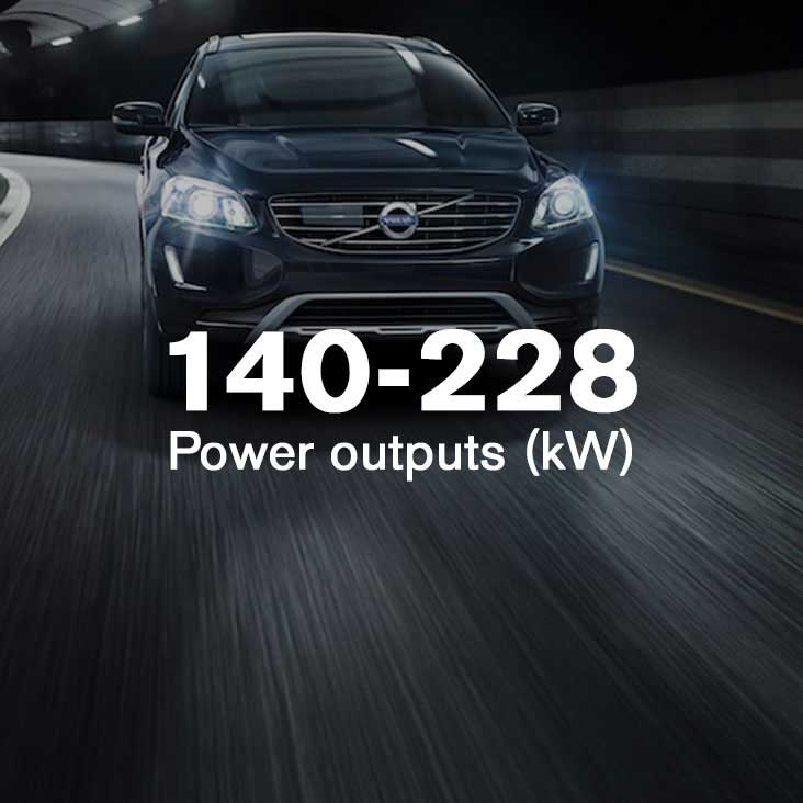 XC60 More power, less fuel