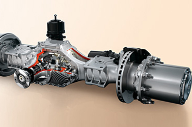 Axor The right choice every time - application-specific axles
