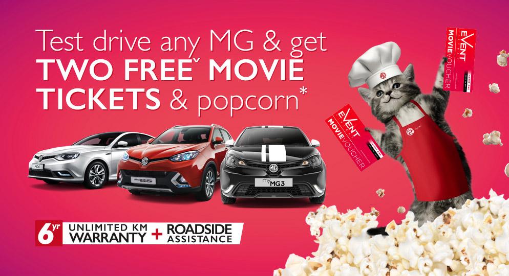 Movie Tickets and Popcorn!