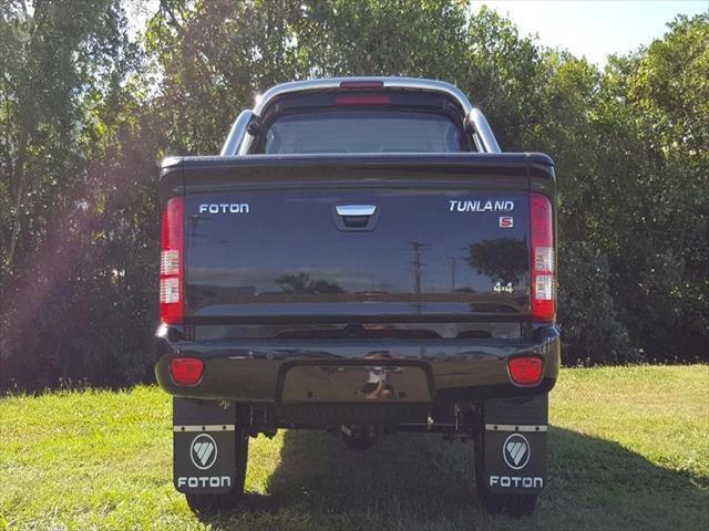 2016 MY17 Foton Tunland Dual Cab P201 4x4 Standard Utility - dual cab