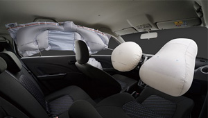 Celerio 6 Airbags