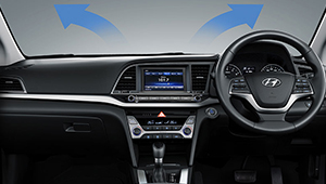 All-New Elantra Auto windscreen defog