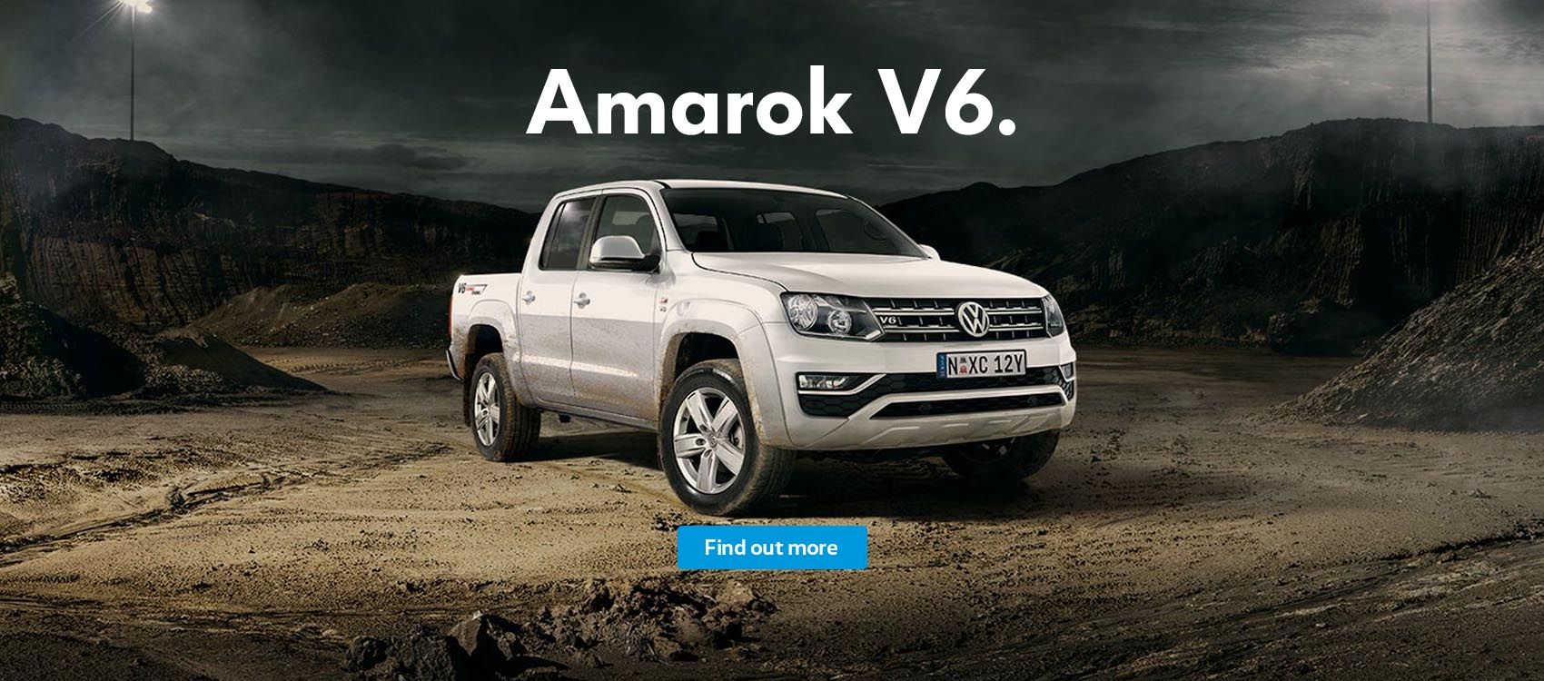 Volkswagen Amarok V6 tough comes from within