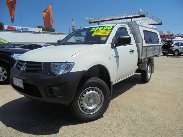 Used 2014 MY15 Mitsubishi Triton Cab chassis for sale in