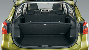 S-Cross Luggage space and flexibility