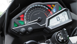 2017 Ninja 300 ABS Revised Instrumentation