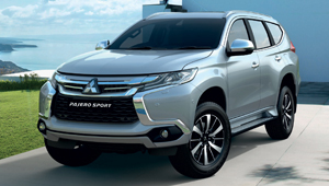 Pajero Sport A new name, a new face and a new attitude.