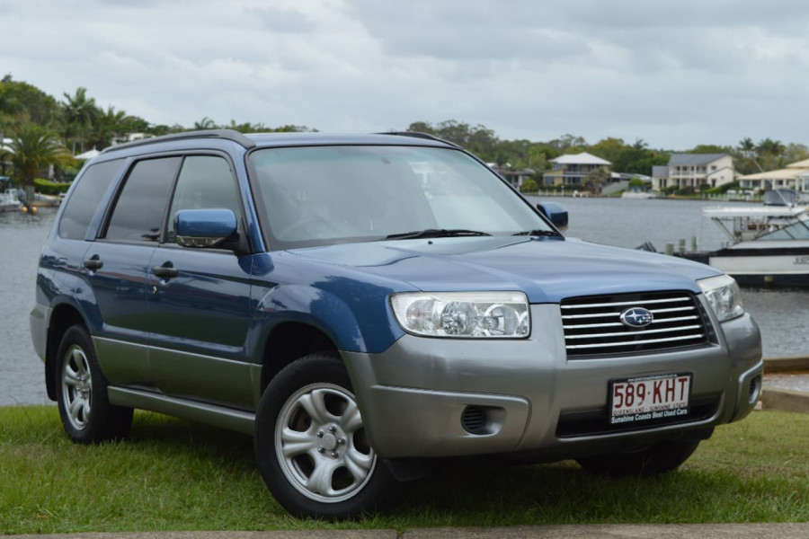 2007 MY08 Subaru Forester 79V  X Columbia Wagon